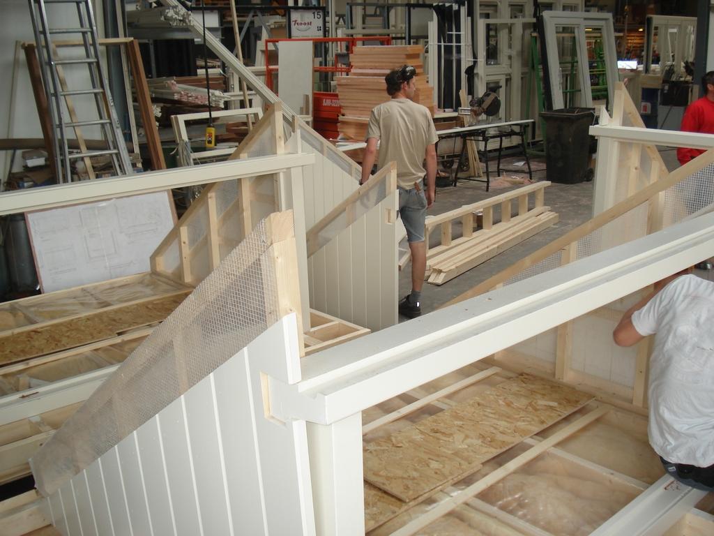 Prefab Aanbouw Keuken : Prefab Uitbouw Keuken : beton storten uitbouw metselen uitbouw